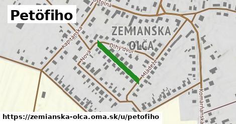 ilustrácia k Petofiho, Zemianska Olča - 180m