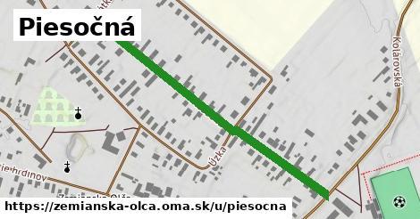 ilustrácia k Piesočná, Zemianska Olča - 536m