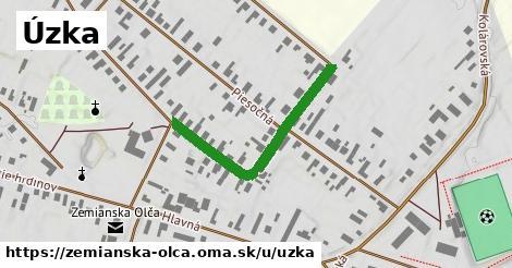 ilustrácia k Úzka, Zemianska Olča - 341m