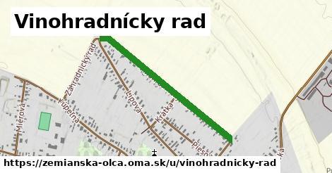 ilustrácia k Vinohradnícky rad, Zemianska Olča - 0,76km
