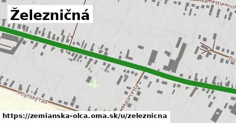 ilustrácia k Železničná, Zemianska Olča - 0,81km