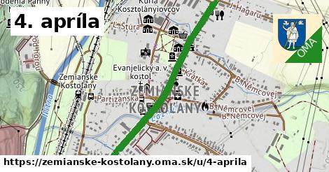 ilustrácia k 4. apríla, Zemianske Kostoľany - 1,35km
