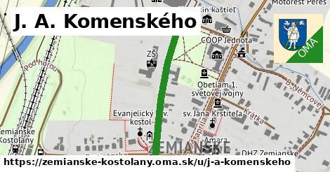 ilustrácia k J. A. Komenského, Zemianske Kostoľany - 301m