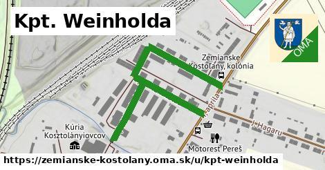 ilustrácia k Kpt. Weinholda, Zemianske Kostoľany - 600m