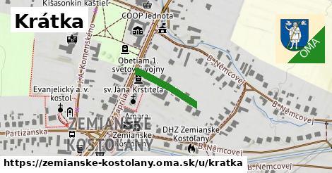 ilustračný obrázok k Krátka, Zemianske Kostoľany