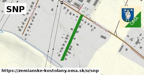 ilustrácia k SNP, Zemianske Kostoľany - 259m