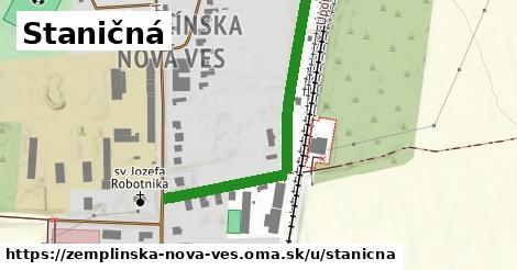ilustrácia k Staničná, Zemplínska Nová Ves - 446m