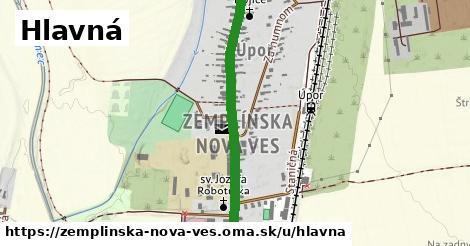 ilustrácia k Hlavná, Zemplínska Nová Ves - 1,60km