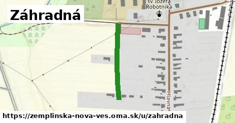 ilustrácia k Záhradná, Zemplínska Nová Ves - 241m