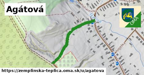 ilustrácia k Agátová, Zemplínska Teplica - 338m