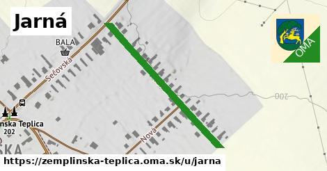ilustračný obrázok k Jarná, Zemplínska Teplica