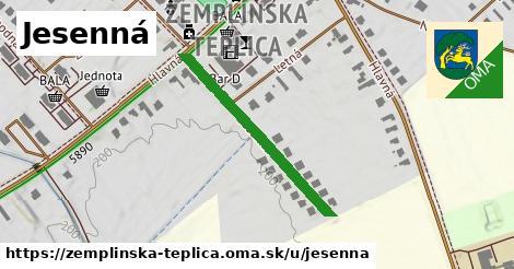 ilustrácia k Jesenná, Zemplínska Teplica - 310m