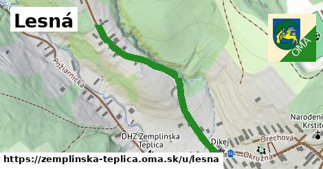 ilustrácia k Lesná, Zemplínska Teplica - 443m