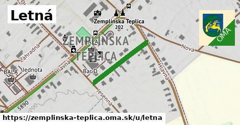 ilustrácia k Letná, Zemplínska Teplica - 211m