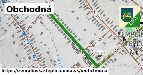 ilustrácia k Obchodná, Zemplínska Teplica - 402m