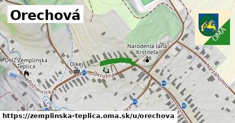 ilustrácia k Orechová, Zemplínska Teplica - 167m