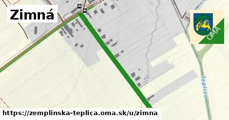 ilustrácia k Zimná, Zemplínska Teplica - 377m