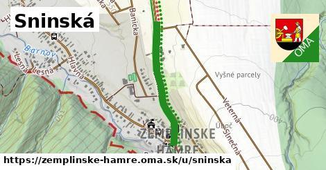 ilustrácia k Sninská, Zemplínske Hámre - 581m