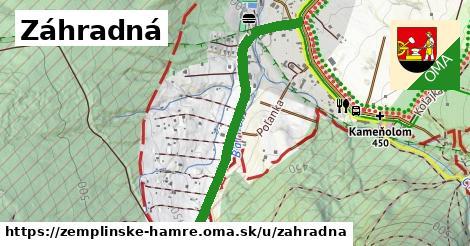 ilustrácia k Záhradná, Zemplínske Hámre - 0,94km