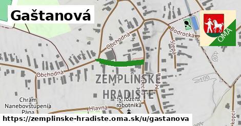 ilustrácia k Gaštanová, Zemplínske Hradište - 145m