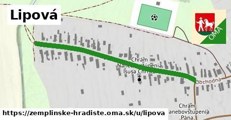 ilustrácia k Lipová, Zemplínske Hradište - 528m