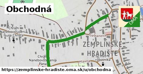 ilustrácia k Obchodná, Zemplínske Hradište - 474m