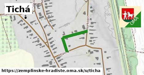 ilustrácia k Tichá, Zemplínske Hradište - 209m