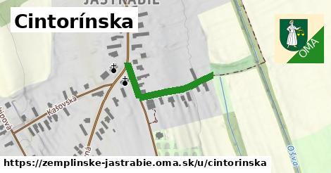 ilustrácia k Cintorínska, Zemplínske Jastrabie - 357m