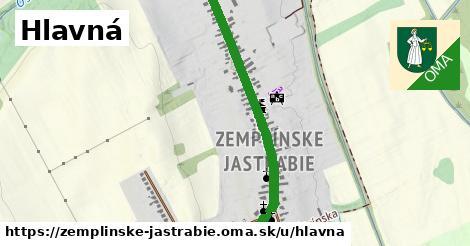 ilustrácia k Hlavná, Zemplínske Jastrabie - 1,47km