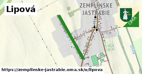 ilustrácia k Lipová, Zemplínske Jastrabie - 535m