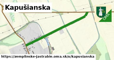 ilustrácia k Kapušianska, Zemplínske Jastrabie - 0,92km