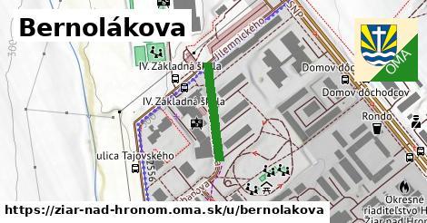 ilustrácia k Bernolákova, Žiar nad Hronom - 174m