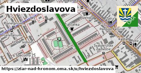 ilustrácia k Hviezdoslavova, Žiar nad Hronom - 313m