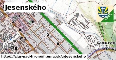ilustrácia k Jesenského, Žiar nad Hronom - 1,06km