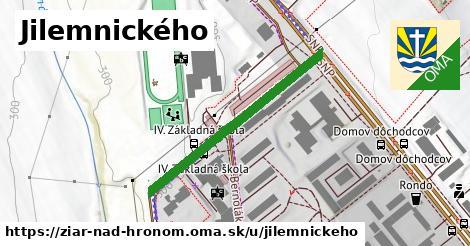 ilustrácia k Jilemnického, Žiar nad Hronom - 352m