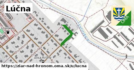 ilustrácia k Lúčna, Žiar nad Hronom - 155m