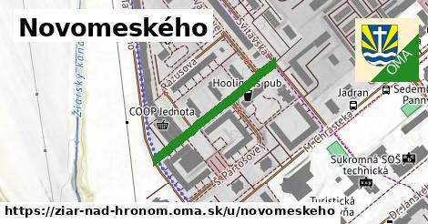 ilustrácia k Novomeského, Žiar nad Hronom - 272m