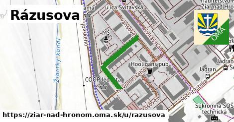 ilustrácia k Rázusova, Žiar nad Hronom - 235m