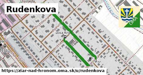 ilustračný obrázok k Rudenkova, Žiar nad Hronom