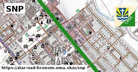 ilustrácia k SNP, Žiar nad Hronom - 4,8km