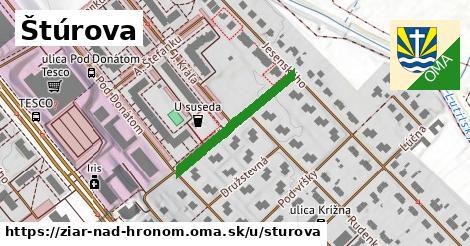 ilustrácia k Štúrova, Žiar nad Hronom - 244m