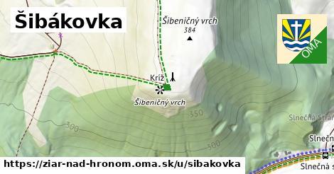 ilustrácia k Šibákovka, Žiar nad Hronom - 2,8km