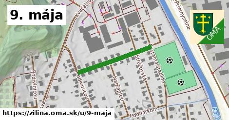 ilustrácia k 9. mája, Žilina - 250m