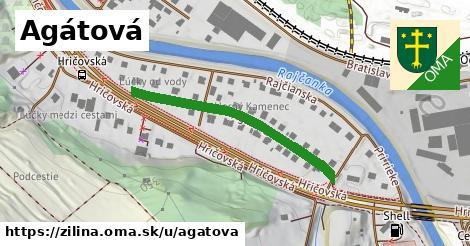 ilustrácia k Agátová, Žilina - 360m