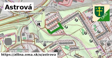 ilustrácia k Astrová, Žilina - 146m