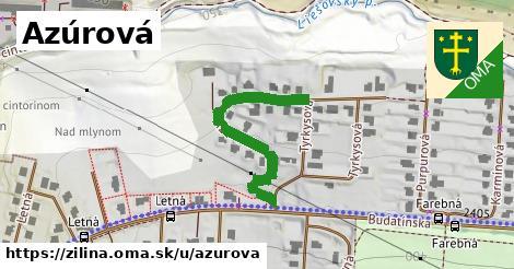 ilustrácia k Azúrová, Žilina - 361m