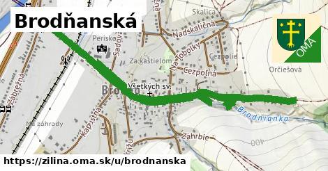 ilustrácia k Brodňanská, Žilina - 1,86km