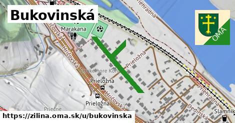 ilustrácia k Bukovinská, Žilina - 292m