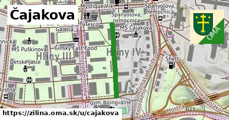 ilustrácia k Čajakova, Žilina - 241m