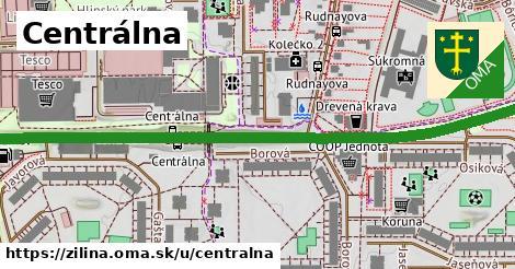 ilustračný obrázok k Centrálna, Žilina